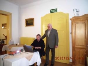 spotkanie z Stanisławem Dąbrowskim -DPS Sosnówka grudzień 2013 (4)