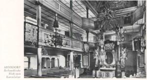 Bethauskirche - Blick zum Kanzelaltar